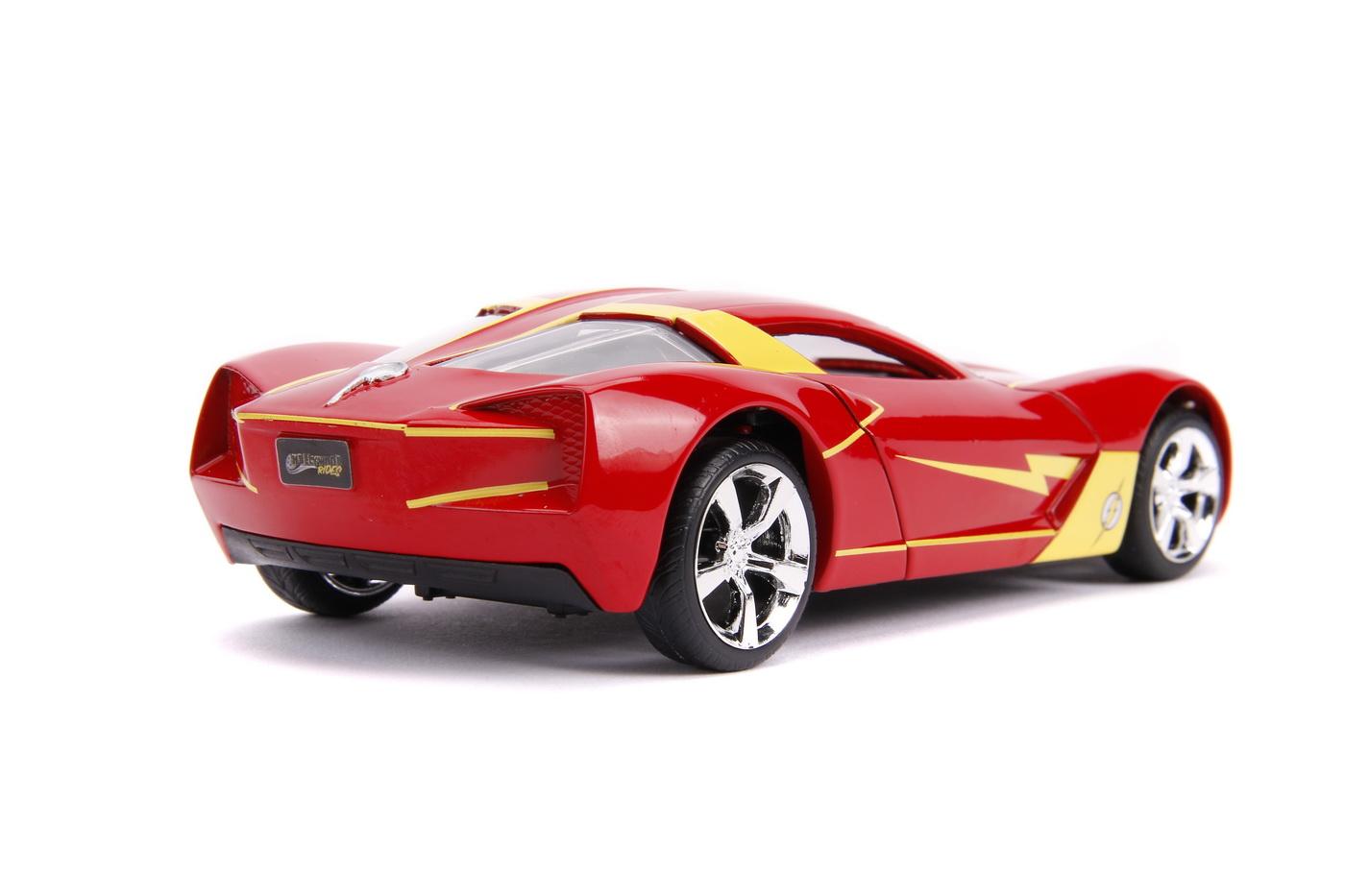 Masinuta Metalica Flash 2009 Chevy Corvette Scara 1 La 32 | JadaToys - 4