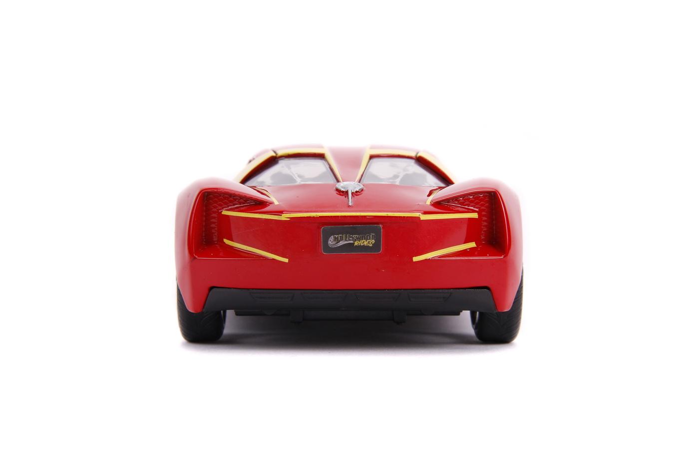 Masinuta Metalica Flash 2009 Chevy Corvette Scara 1 La 32 | JadaToys - 3