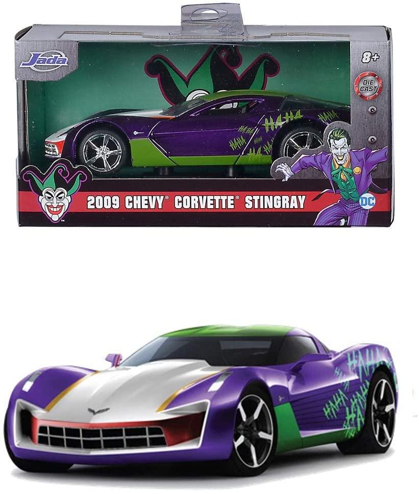 Masinuta Metalica Joker 2009 Chevy Corvette Stingray Scara 1 La 32   Jada