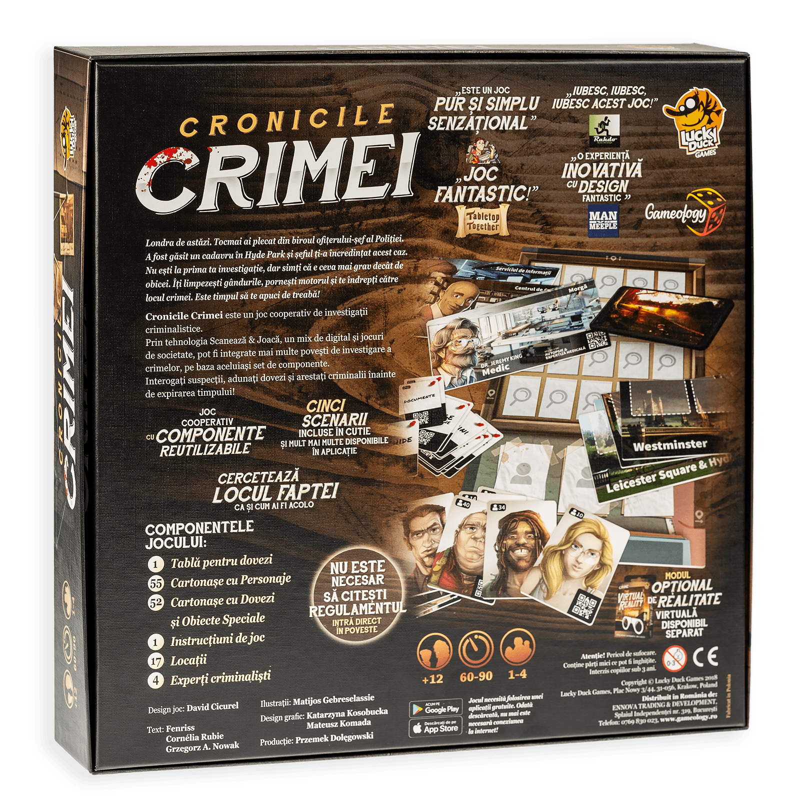 Joc - Cronicile Crimei | Lucky Duck Games - 9