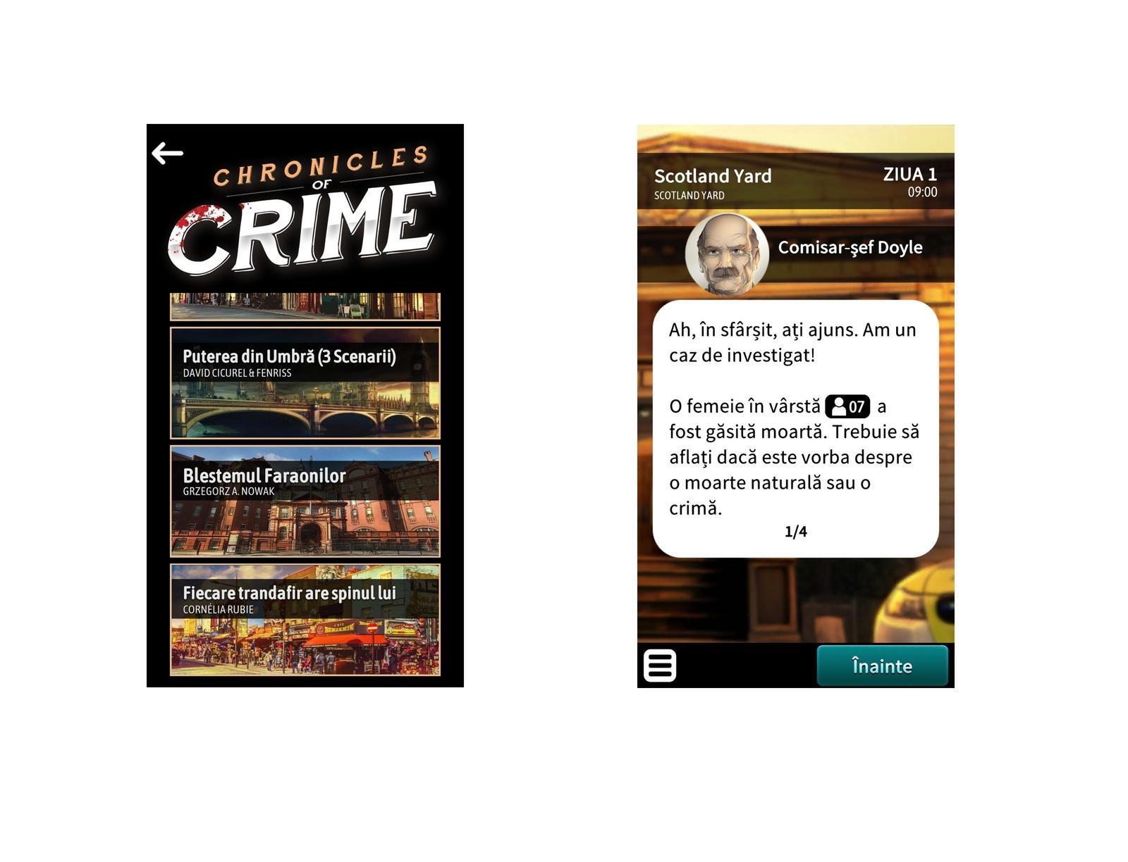 Joc - Cronicile Crimei | Lucky Duck Games - 2