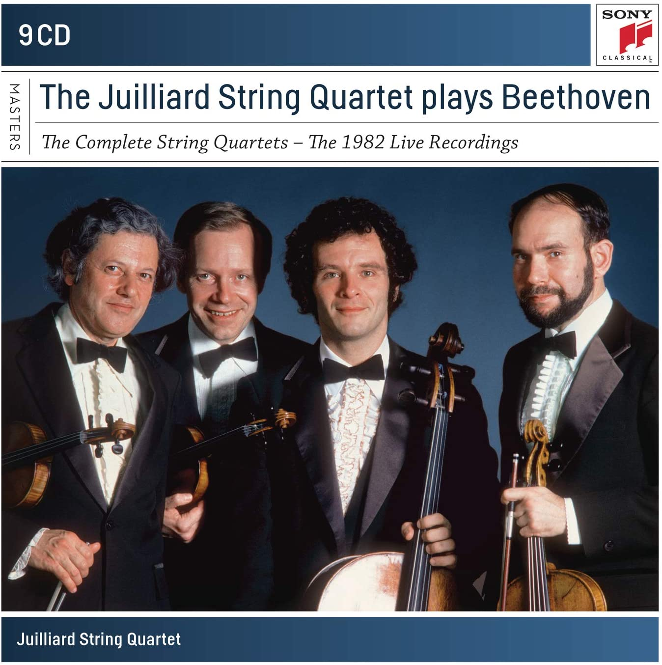 Beethoven: The Complete String Quartets - The 1982 Live Recordings