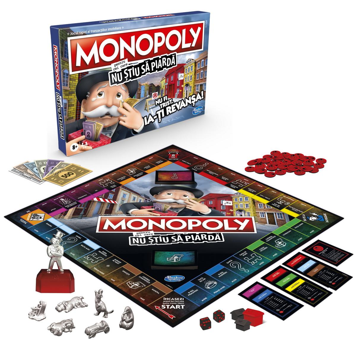 Monopoly - Pentru cei care nu stiu sa piarda | Hasbro - 5