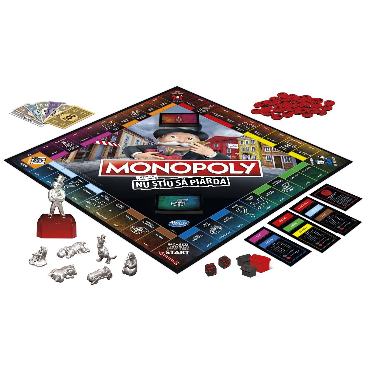 Monopoly - Pentru cei care nu stiu sa piarda | Hasbro - 4