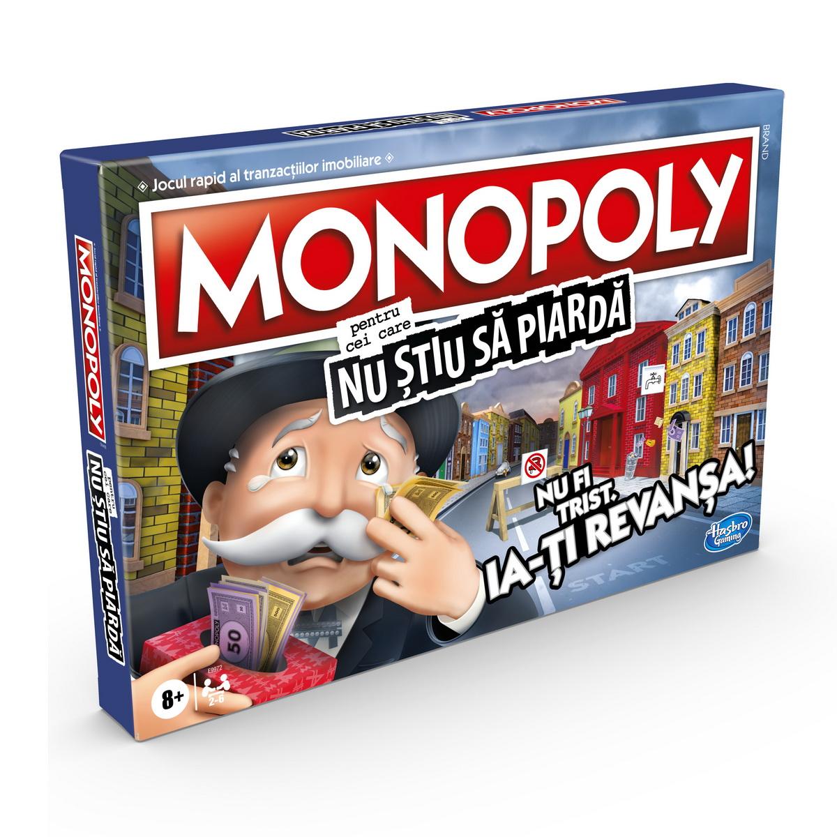 Monopoly - Pentru cei care nu stiu sa piarda | Hasbro - 6