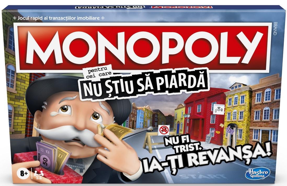Monopoly - Pentru cei care nu stiu sa piarda | Hasbro
