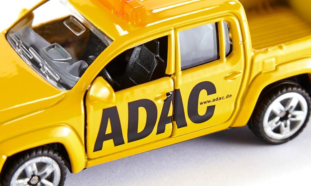 Jucarie - ADAC-Pick-Up - Yellow   Siku - 5