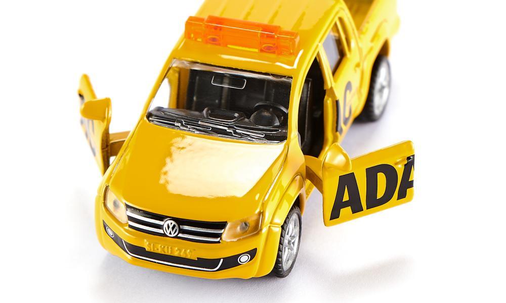 Jucarie - ADAC-Pick-Up - Yellow   Siku - 4