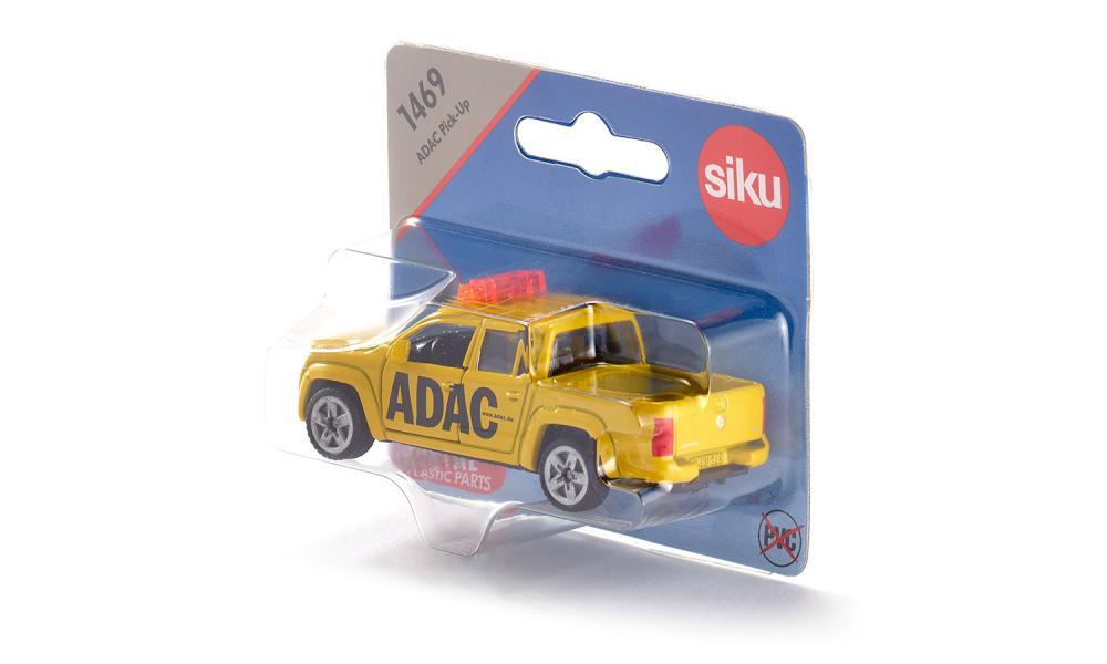 Jucarie - ADAC-Pick-Up - Yellow   Siku - 1