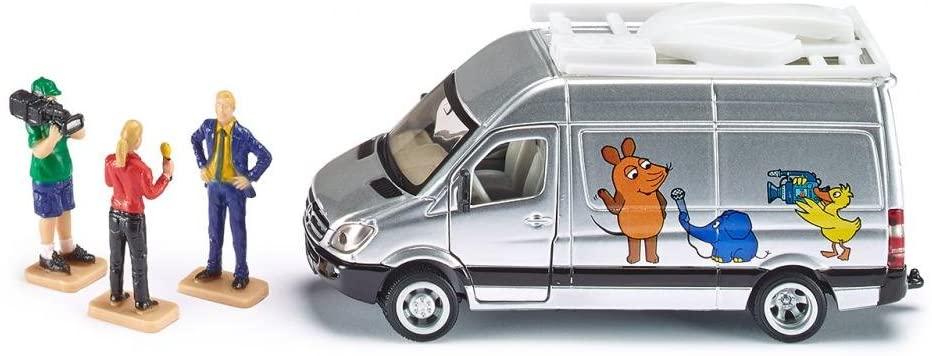 Jucarie - TV Van Mercedes-Benz | Siku