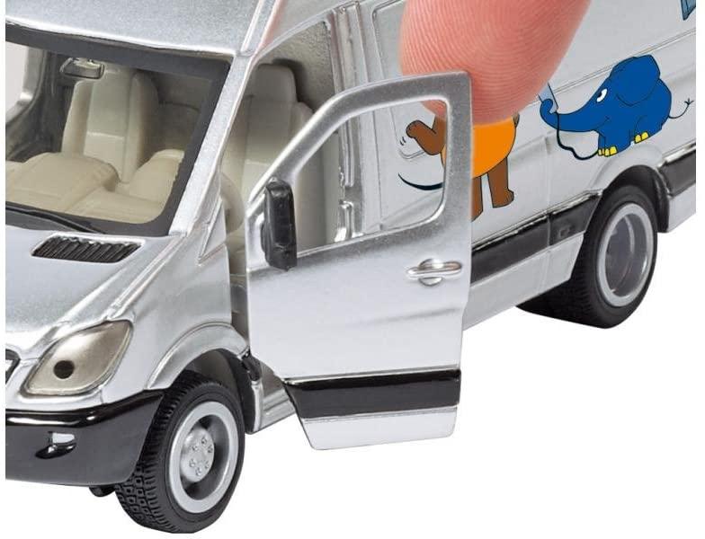 Jucarie - TV Van Mercedes-Benz | Siku - 1