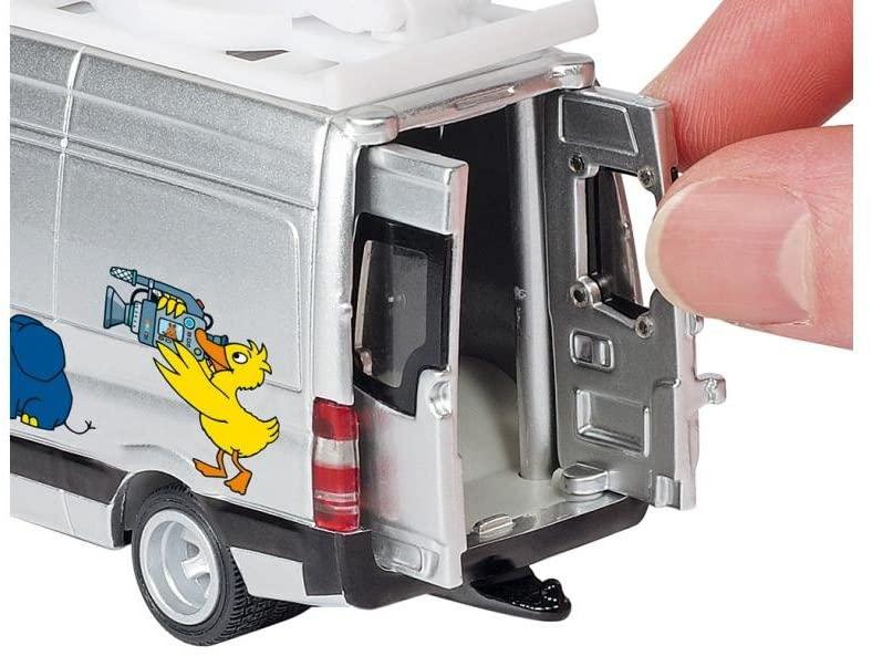 Jucarie - TV Van Mercedes-Benz | Siku - 2