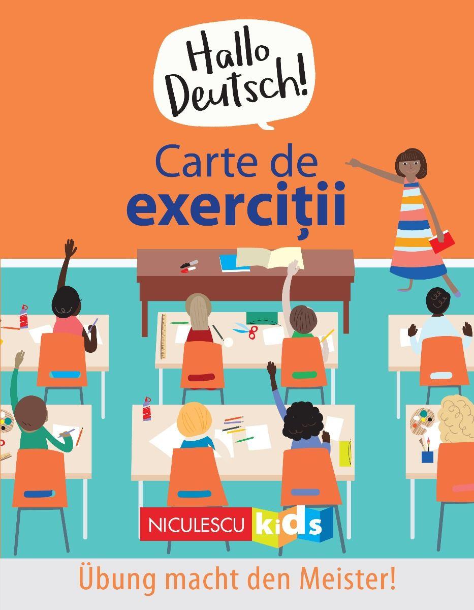 Carte de exercitii - Hallo Deutsch! - Editie Bilingva