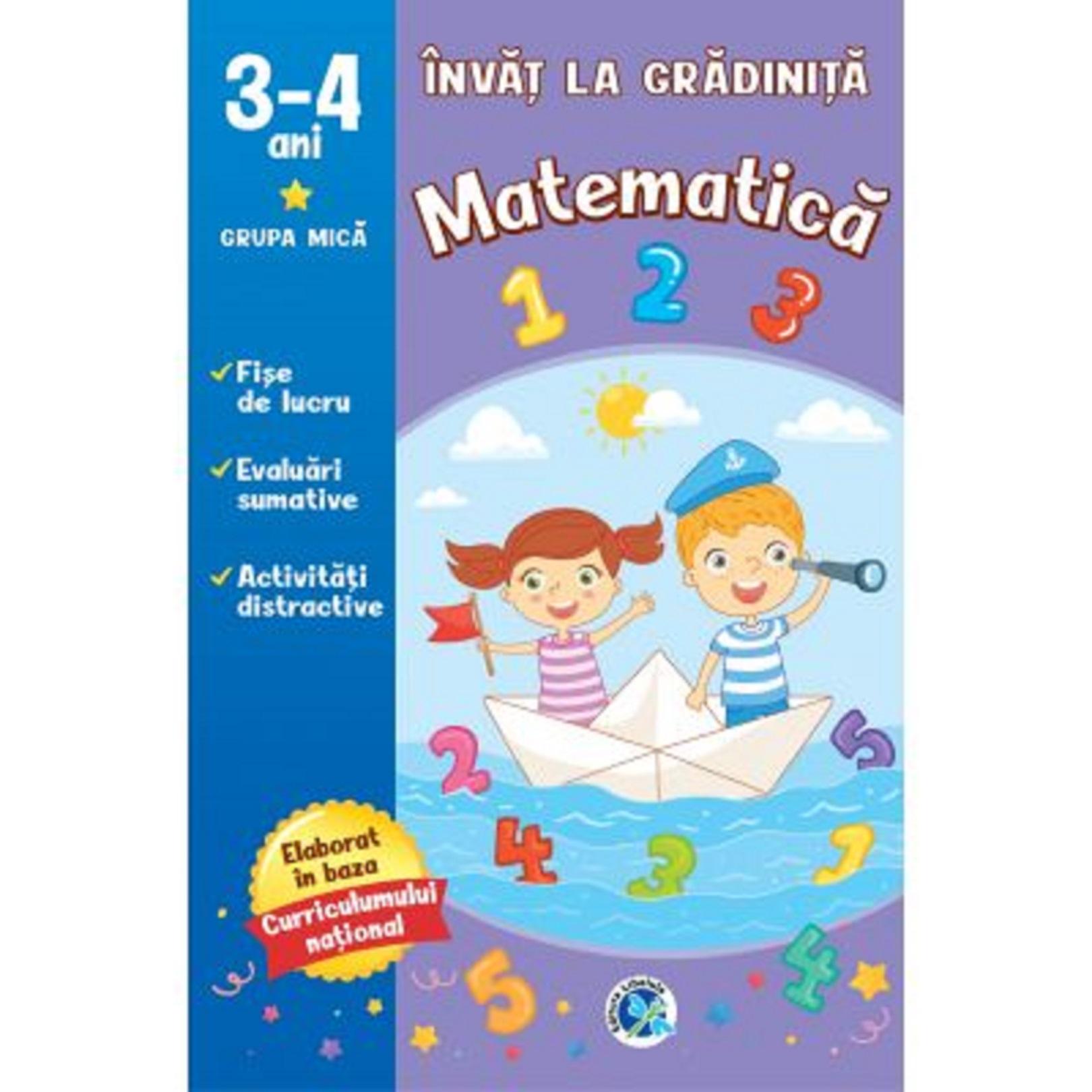 Matematica 3-4 ani |