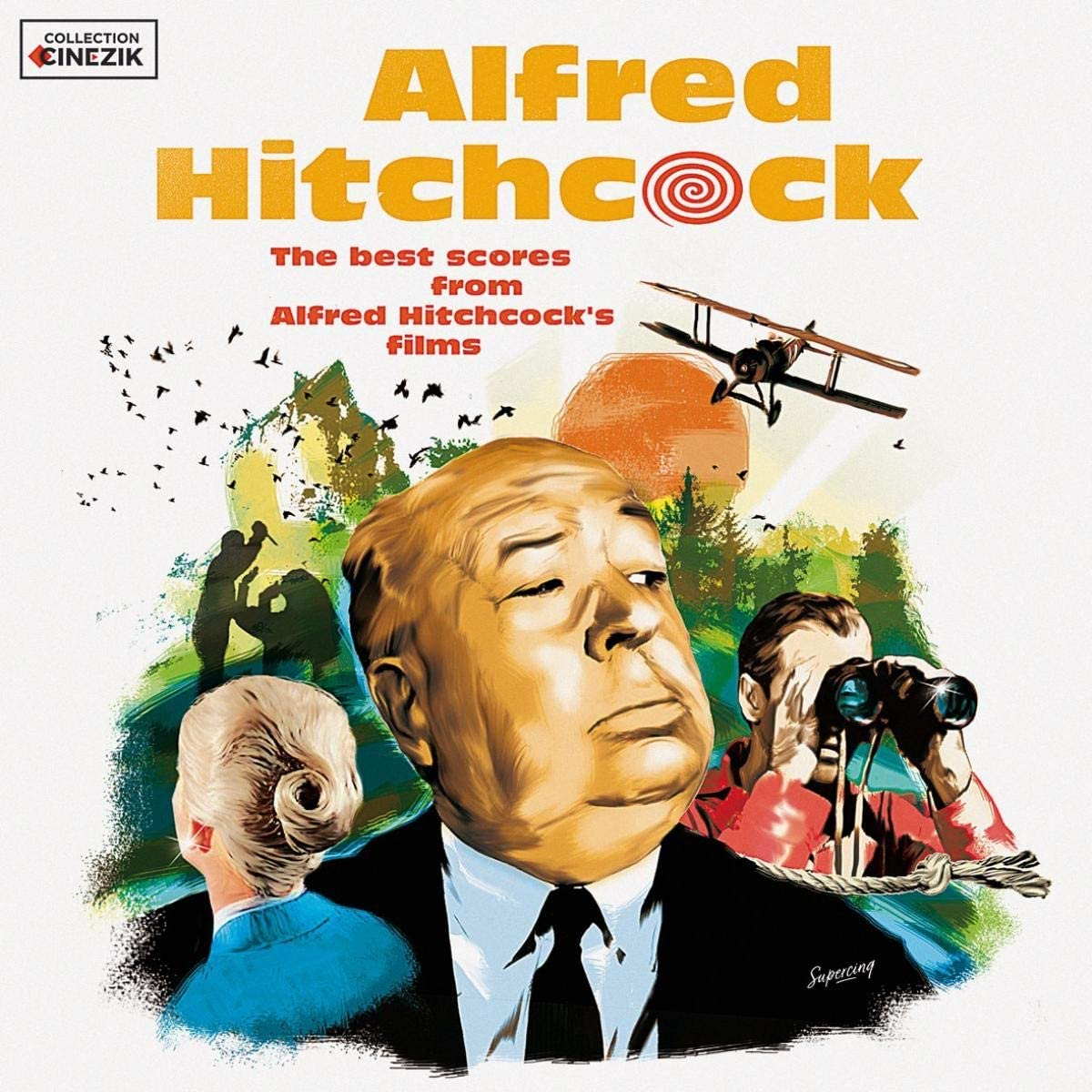 The Best Scores From Alfred Hitchcock's Films - Vinyl