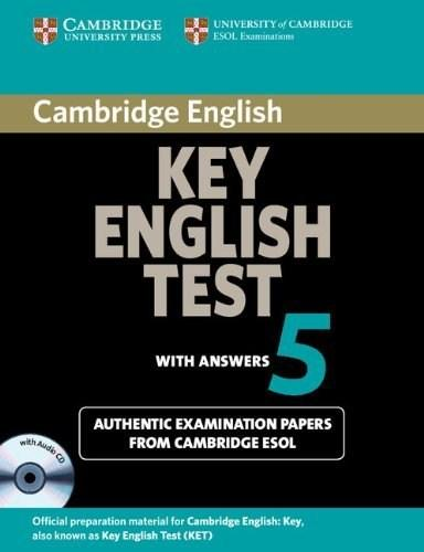 Cambridge Key English Test 5 Self Study Pack (Student's Book with Answers and Audio CD) - Official Examination Papers from University of Cambridge ESO