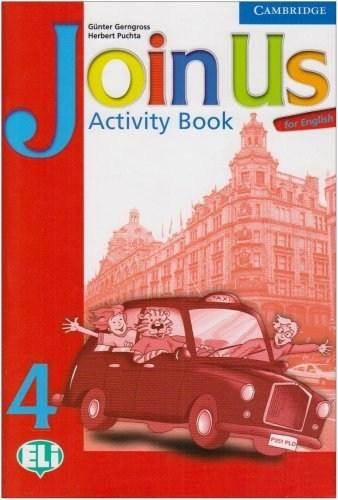Join us for English 4 - Activity Book