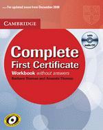 Complete First Certificate Workbook With Audio Cd | Barbara Thomas, Amanda Thomas