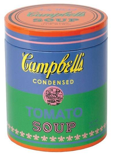 Andy Warhol Soup Can Green 200 Piece Puzzle | Galison