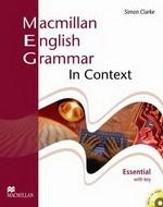 Macmillan English - Grammar In Context Essential Student's Book (with Answer Key)