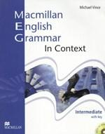 Macmillan English - Grammar In Context Intermediate Student's Book (with Answer Key)