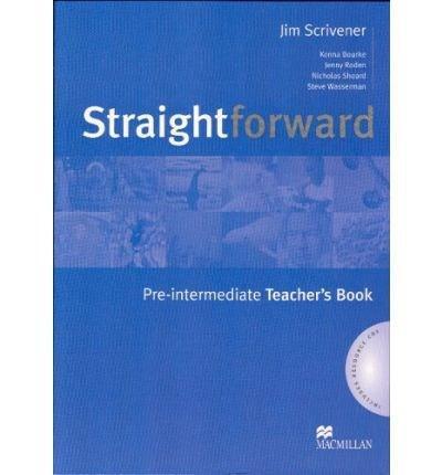 Straightforward Pre-Intermediate Teacher's Book And Resource Pack