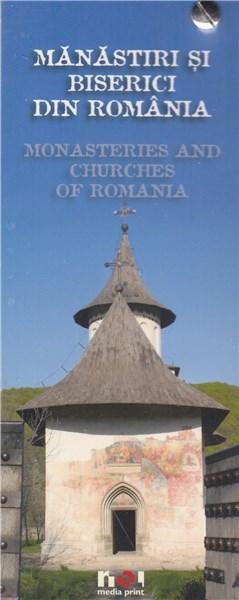 Mini Album Manastiri din Romania (roman-englez)