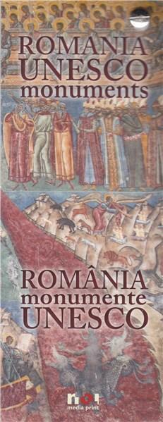 Mini album - Monumente unesco romana-engleza