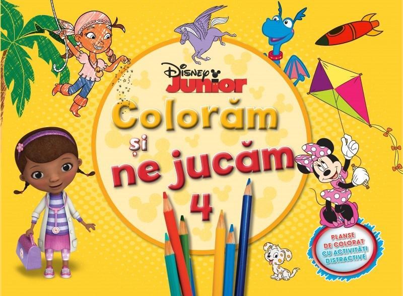 Disney - Coloram si ne jucam Vol. 4