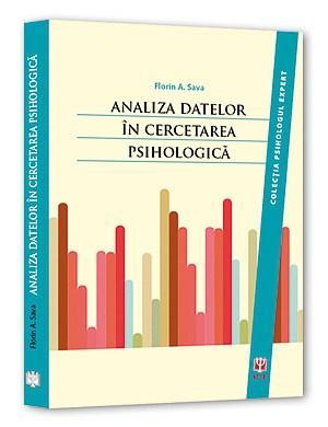 Imagine Analiza Datelor In Cercetarea Psihologica - Florin Alin Sava