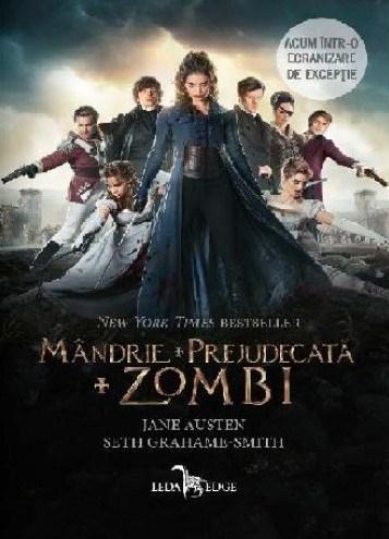 Mandrie + Prejudecata + Zombi | Jane Austen, Seth Grahame-Smith