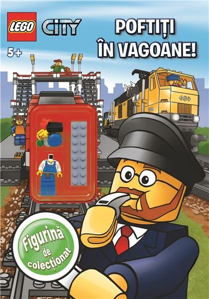 LEGO City: Poftiti in vagoane! |