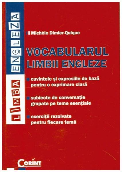 Vocabularul limbii engleze   Michele Dimier Quique