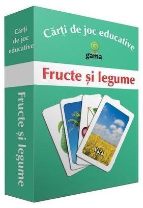 Fructe Si Legume - Carti De Joc Educative |