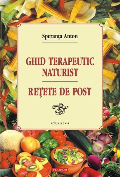 Imagine Ghid Terapeutic Naturist - Retete De Post - Speranta Anton