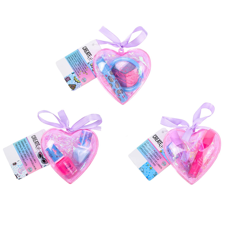 Set machiaj - Pink Heart - mai multe modele