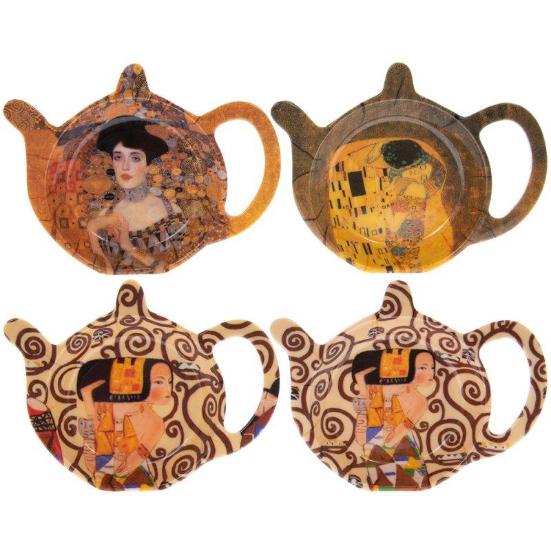 Suport pentru plicul de ceai - Klimt - mai multe modele