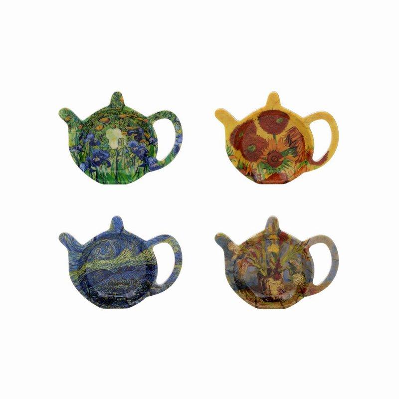 Suport pentru plicul de ceai - Van Gogh - mai multe modele