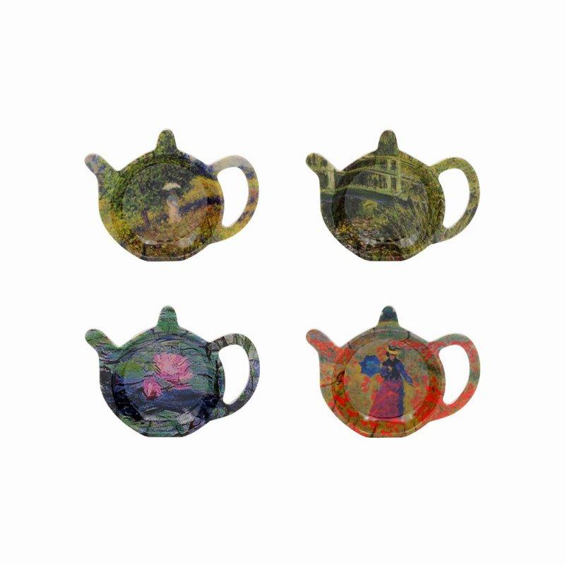 Suport pentru plicul de ceai - Monet - mai multe modele