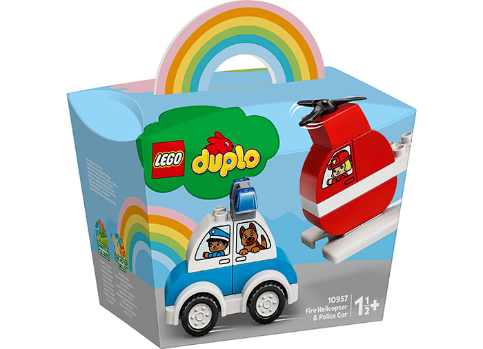 LEGO Duplo - Fire Helicopter and Police Car (10957) | LEGO