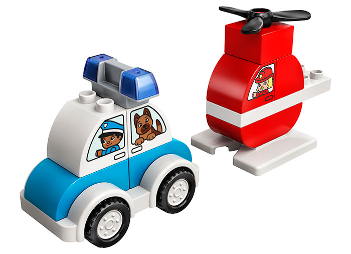 LEGO Duplo - Fire Helicopter and Police Car (10957)   LEGO - 1