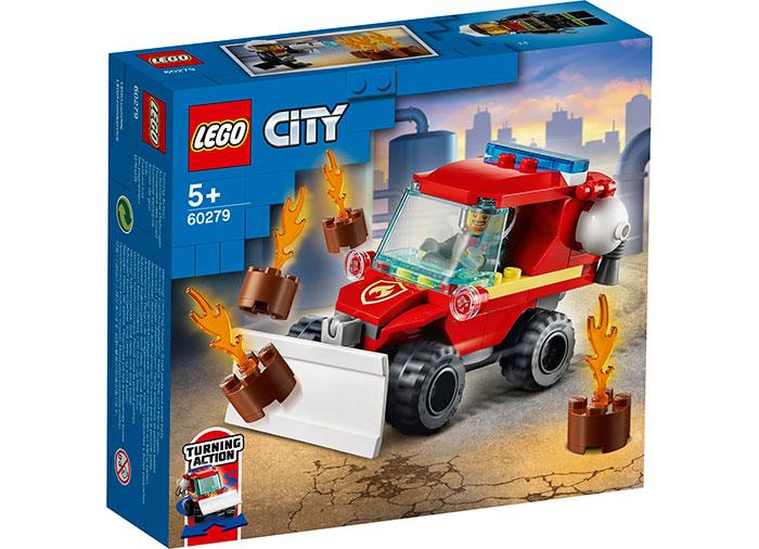 LEGO City - Camion de pompieri (60279) | LEGO