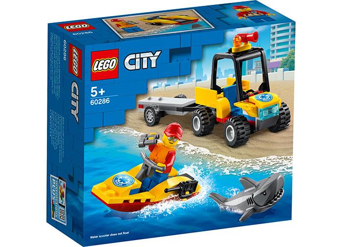 LEGO City - Beach Rescue ATV (60286) | LEGO