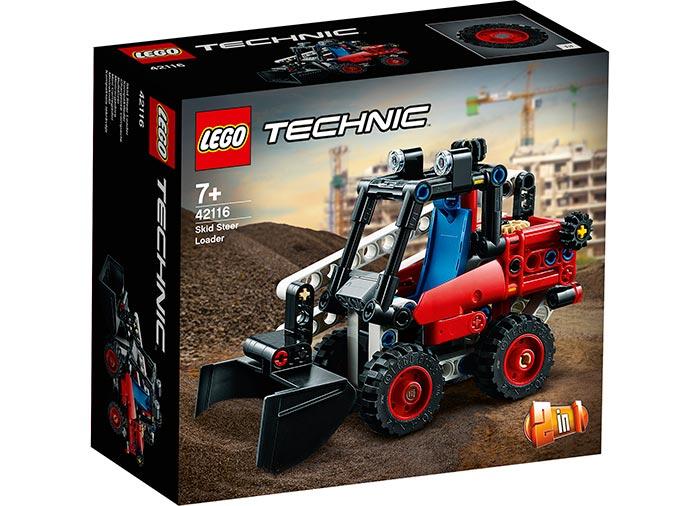 LEGO Technic - Skid Steer Loader (42116) | LEGO