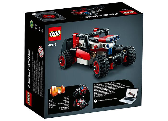 LEGO Technic - Skid Steer Loader (42116)   LEGO - 4
