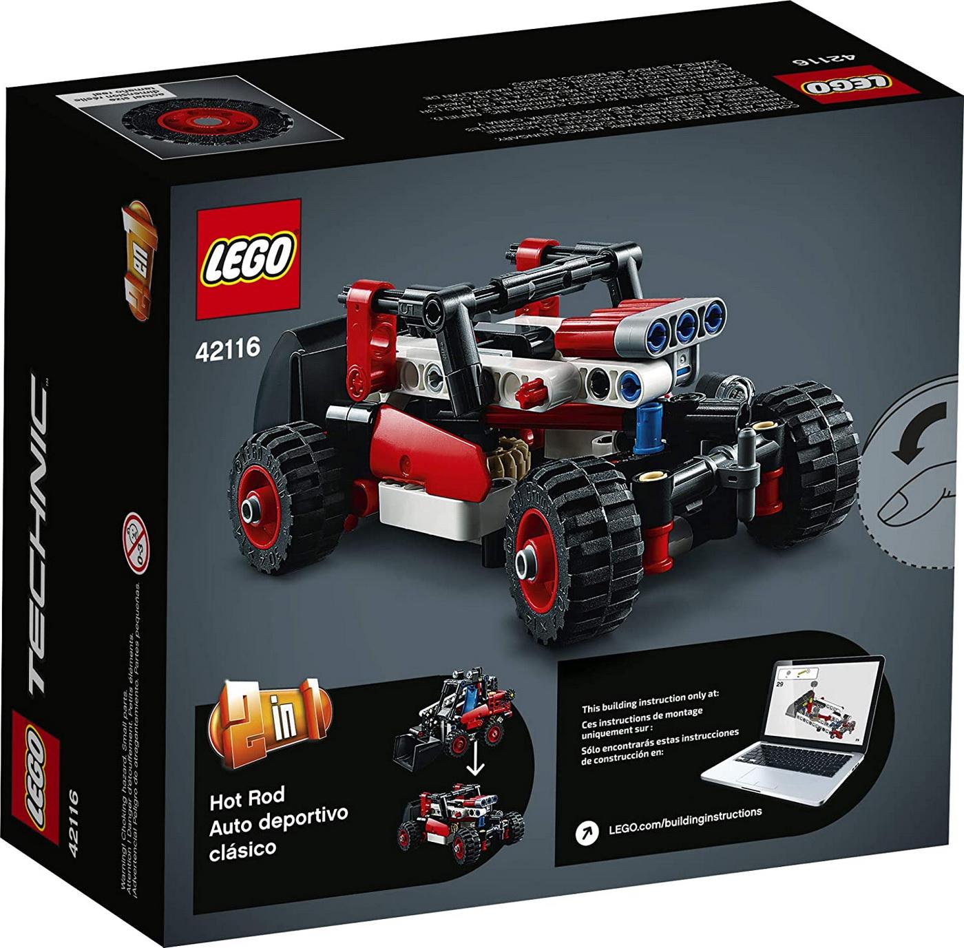 LEGO Technic - Skid Steer Loader (42116)   LEGO - 7