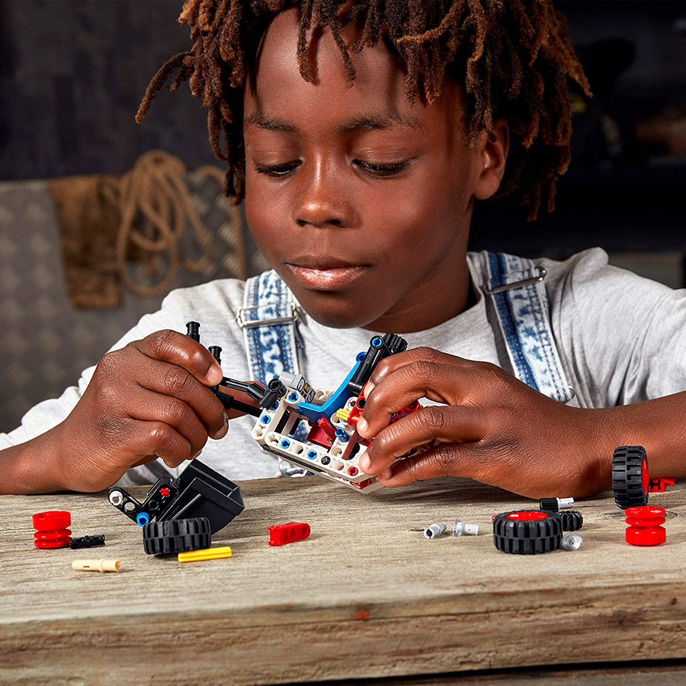LEGO Technic - Skid Steer Loader (42116)   LEGO - 6