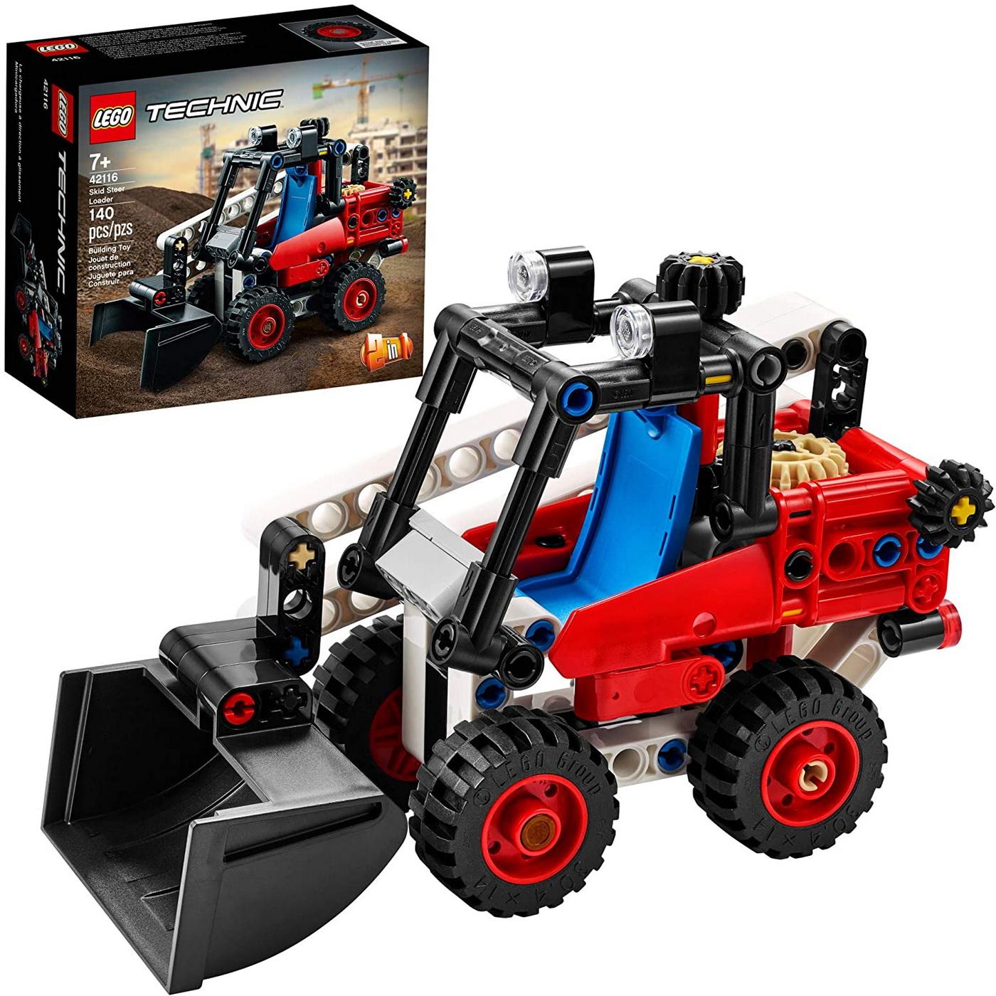 LEGO Technic - Skid Steer Loader (42116)   LEGO - 8