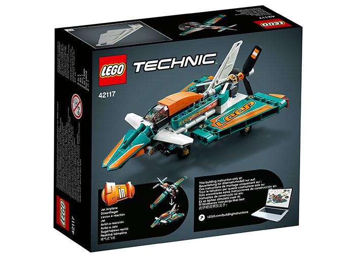 LEGO Technic - Race Plane (42117)   LEGO - 2