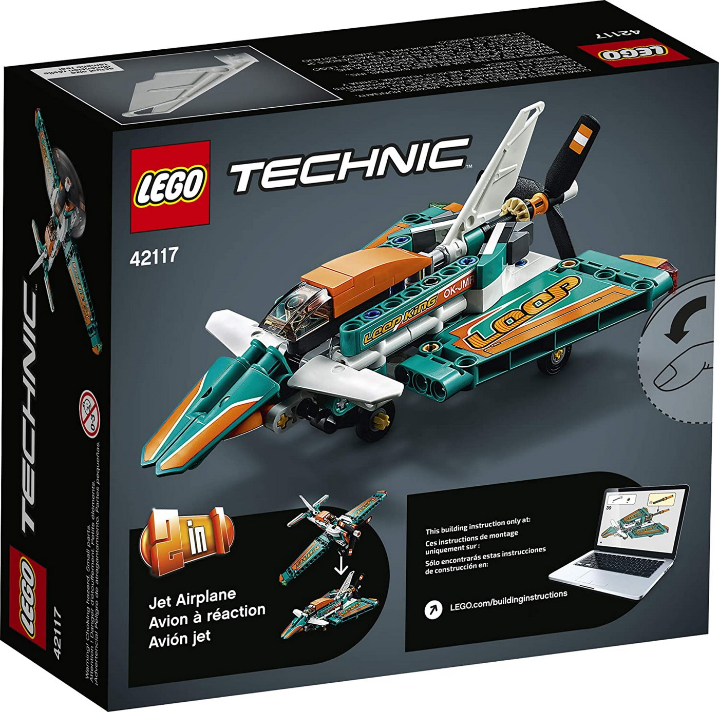 LEGO Technic - Race Plane (42117)   LEGO - 11